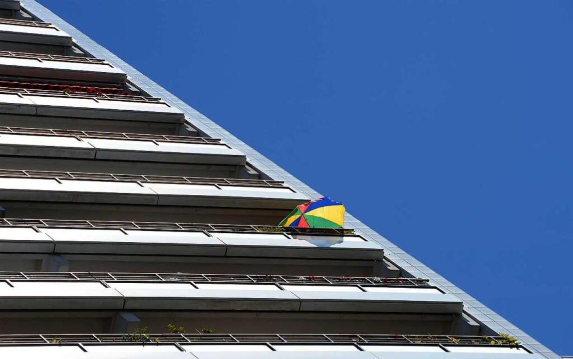 Die Stadt will mit einer Infokampagne ...hr Mietwohnungsbau werben. Symbolbild.  | Foto: Soeren Stache