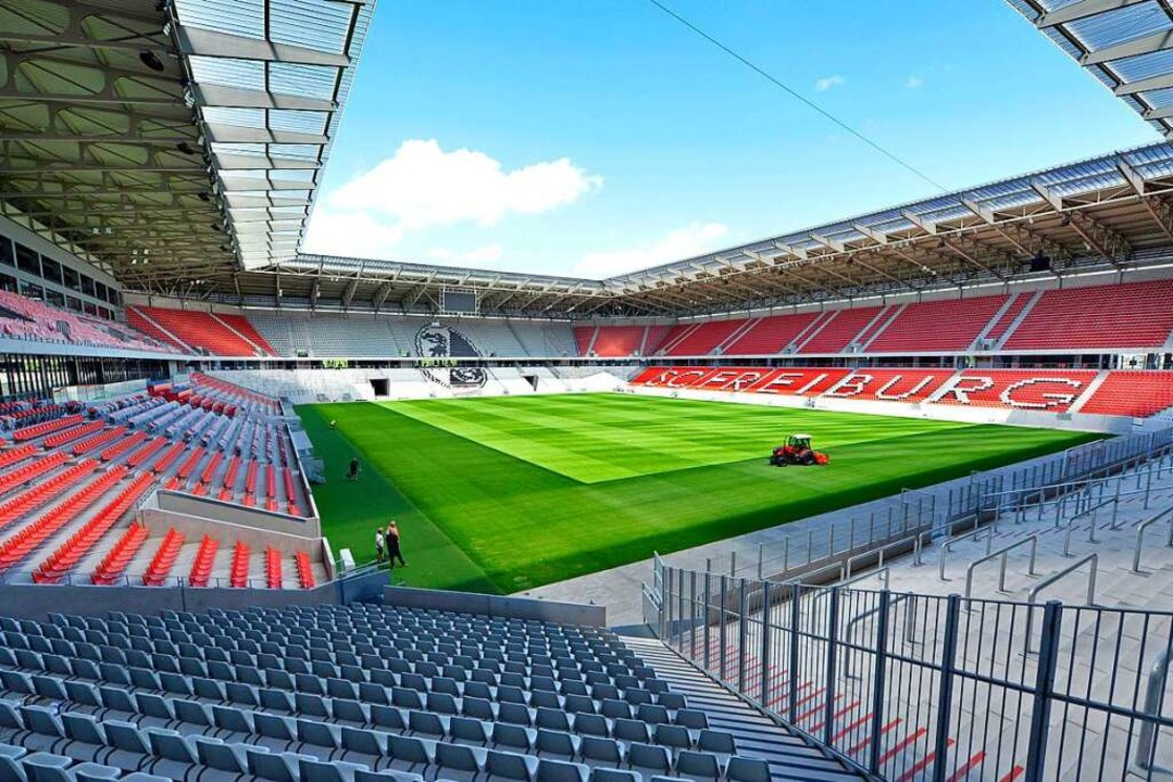 Auf Entdeckungstour gehen die Gewinner im neuen Stadion des SC Freiburg.  | Foto: Michael Bamberger