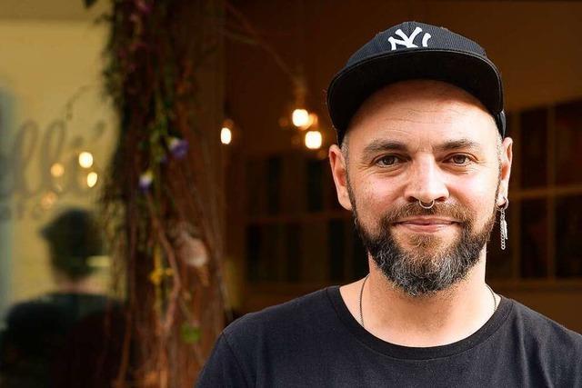 Gastronom Chris Held würde gerne die komplette Freiburger City für Autos sperren