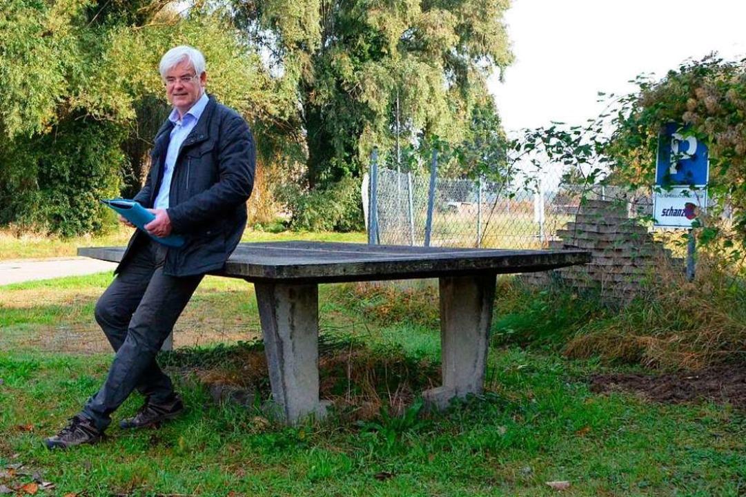 Ja sagt Kurt Schmidt zur Umwandlung de...Infrastruktur geklärt werden, sagt er.    Foto: Felix Lieschke