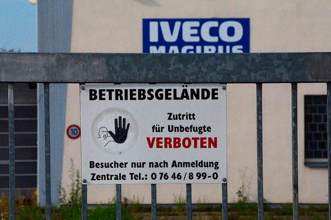 """Bei der Sanierung des ehemaligen Iveco... das Thema zu treiben"""", sagt er.    Foto: Felix Lieschke"""