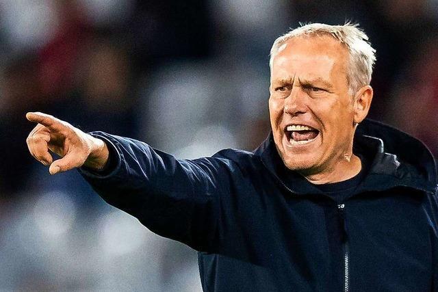 Dürfen die SC-Spieler ihren Trainer Christian Streich eigentlich duzen?