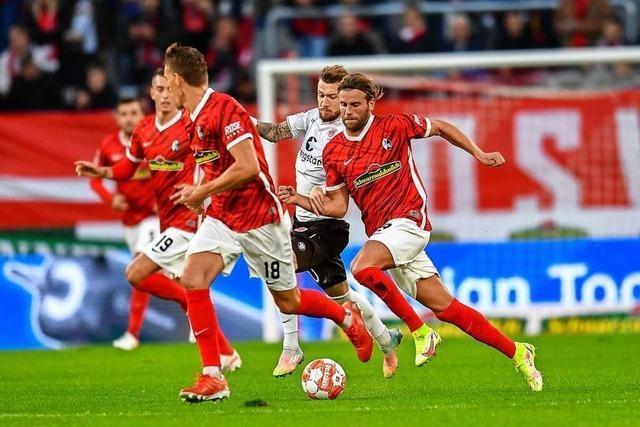 SC Freiburg empfängt RB Leipzig vor 20.000 Zuschauern im neuen Stadion