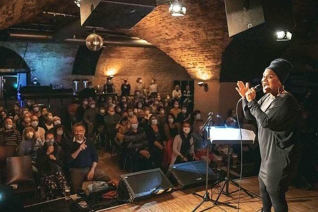 So war 's beim BZ Singalong im Freiburger Jazzhaus mit Cécile Verny