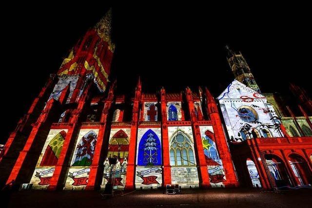 Ab Freitag zeigt sich das Freiburger Münster so vielfarbig wie noch nie