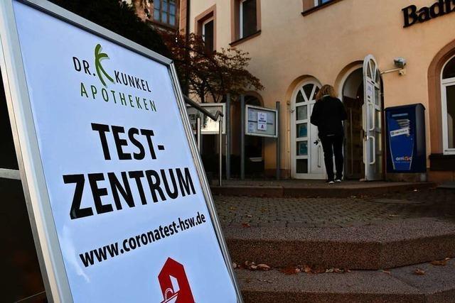 Nachfrage nach Corona-Tests geht zurück