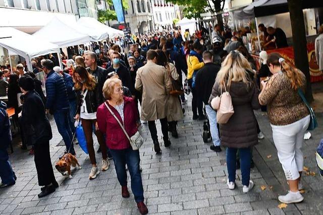 Hygienekonzept des Lörracher Herbstfests war mehr als zweifelhaft