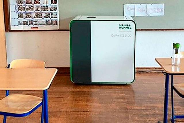 Freiburger Schulen streiten mit Stadt um Wartung der Luftfilter