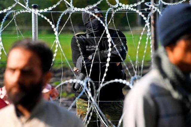 Berlin wirft Belarus Schleusung von Migranten vor
