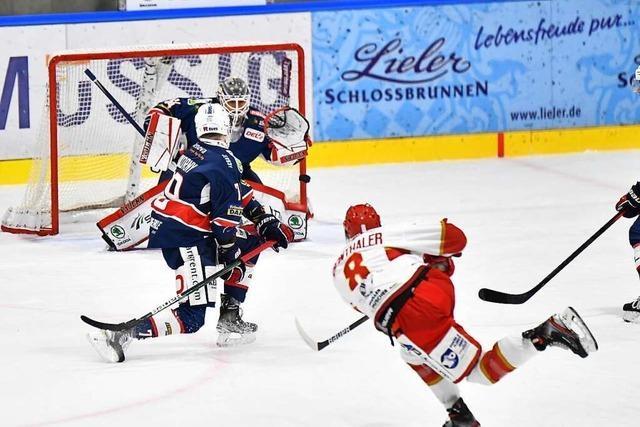 Eine Nummer zu groß: EHC Freiburg verliert gegen Landshut 2:5