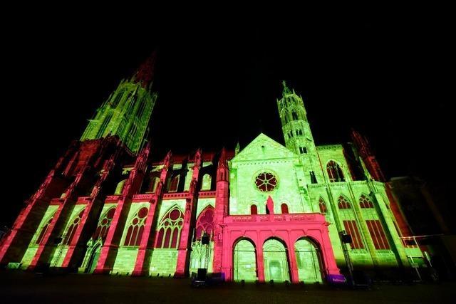 Video: Wie das Freiburger Münster zum Leuchten gebracht wird