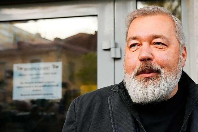 Friedensnobelpreisträger Muratow:
