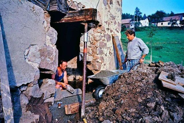 Wie in Steinen ein Kulturdenkmal gerettet wurde