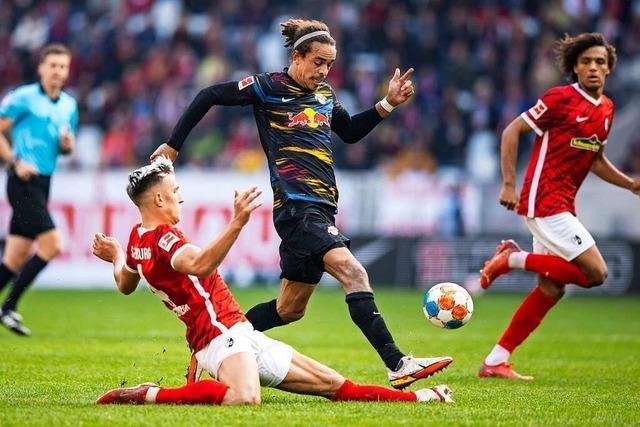 Freiburg belohnt sich gegen Leipzig mit einem Punkt