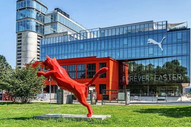 Katze vor dem Eingang, Golfen auf dem Dach – die neue Puma-Firmenzentrale in Straßburg