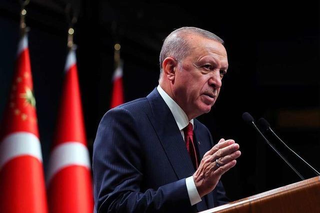 Merkels Abschiedsbesuch bei Erdogan in der Türkei