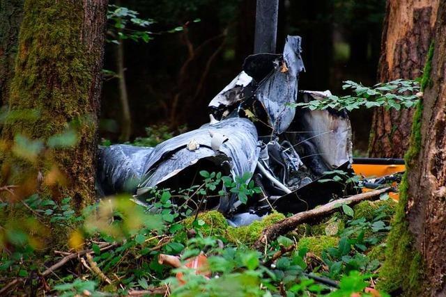 Drei Tote bei Hubschrauberabsturz im Norden Baden-Württembergs