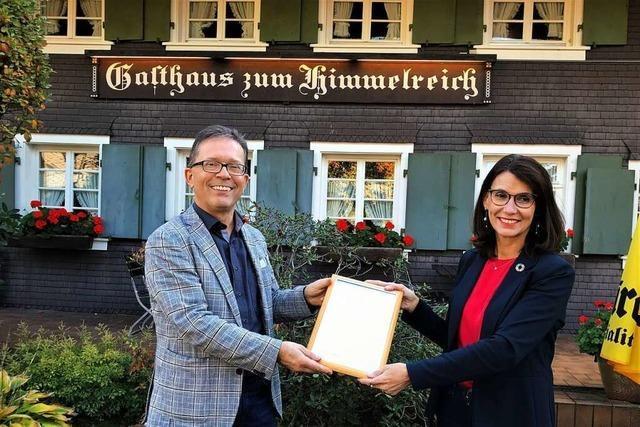 Öko-Zertifikat für das Hofgut Himmelreich
