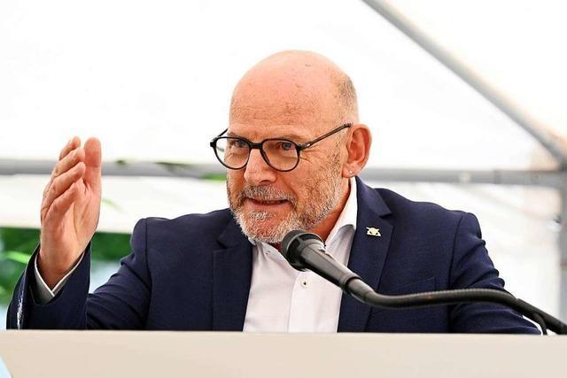 Minister Hermann bedauert Aus für Tempo 130 bei Sondierungen