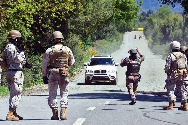 Chile ruft Ausnahmezustand aus und verschärft so ethnische Unruhen