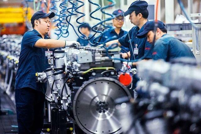Chinas Wachstum ernüchtert