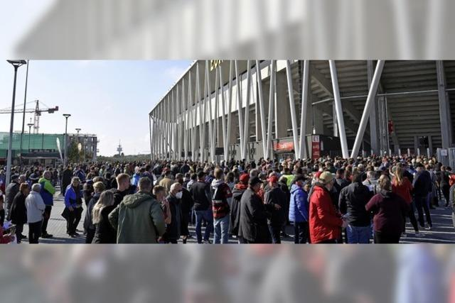 Nachbarn des neuen SC-Stadions sind zufrieden - vorerst