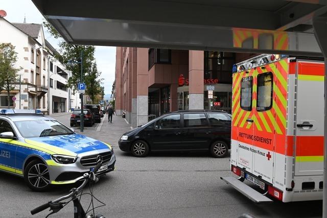 Polizei sucht weiter nach dem Lörracher Sparkassenräuber