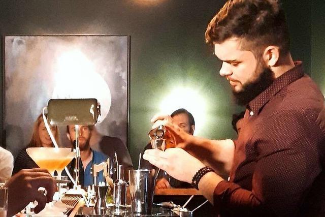 Große Cocktailkunst beim Black-Forest-Bar-Cup
