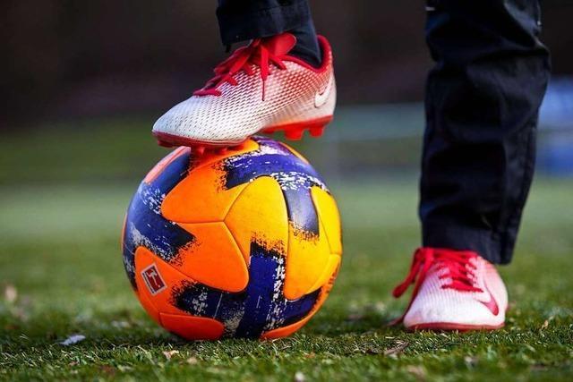 Ran an den Ball und auf die Piste