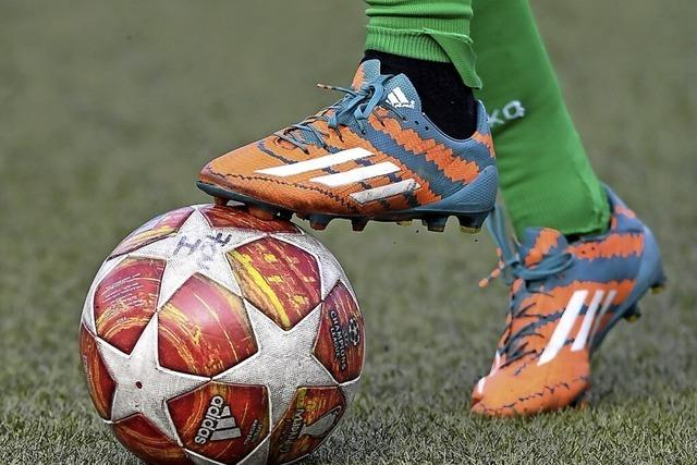 Fußballer zeigen sich kreativ