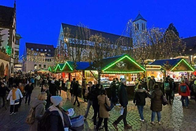 So soll der Weihnachtsmarkt in Freiburg trotz Corona stattfinden