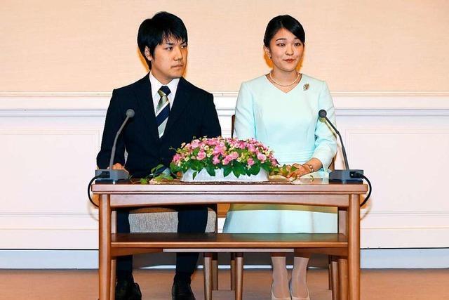 Nach Hochzeit von Prinzessin Mako schrumpft Japans Kaiserhof weiter