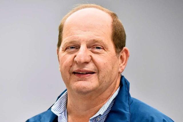 Manfred Barhofer wandert gerne – nicht nur am Schauinsland