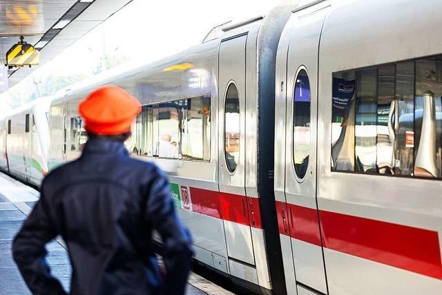 Sturmtief Ignatz unterbricht Bahnverkehr in weiten Teilen des Landes
