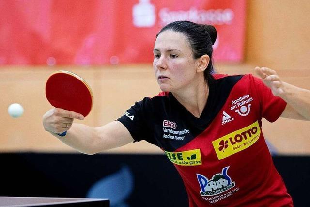 Ievgeniia Sozoniuk hat sich in der Bundesliga akklimatisiert