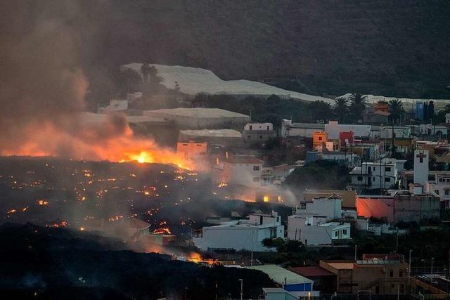Vulkan auf La Palma zwingt erneut hunderte Menschen zur Flucht