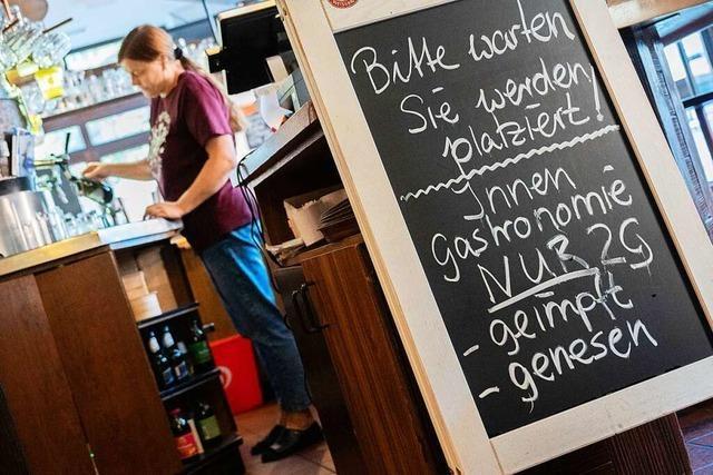 Frust über 3G-Regeln: Einzelne Wirte in Rheinfelden setzen auf 2G