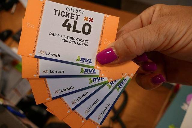 Das Lörracher Ein-Euro-Ticket ist jetzt auch per App erhältlich