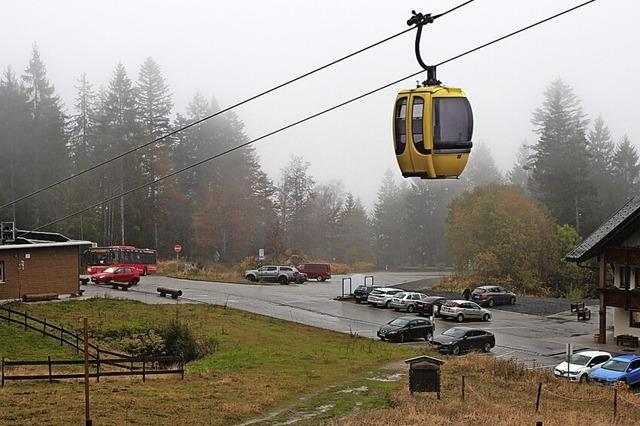 Parken an der Talstation der Belchenbahn kostet ab sofort Geld