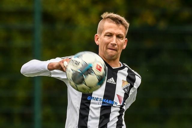 Christoph Mathis könnte sich glatt als fairster Fußballer bewerben