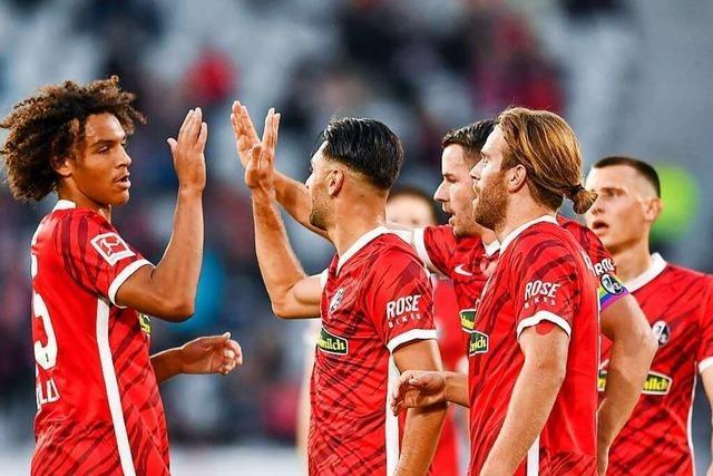 Der SC Freiburg will auch gegen VfL Wolfsburg offensiv bleiben