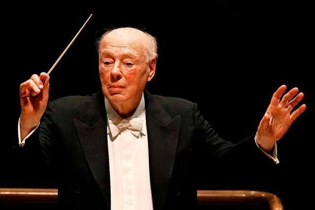 Der große Dirigent Bernard Haitink ist tot