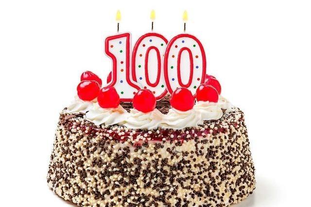 Immer mehr Menschen in der Region Freiburg erleben den 100. Geburtstag