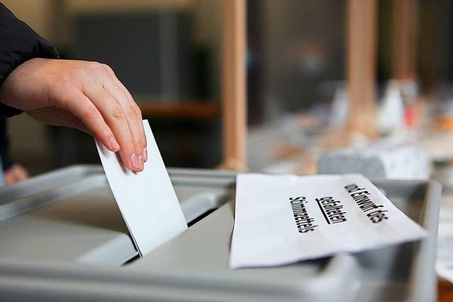 Endspurt für das neue Wahlrecht in Baden-Württemberg