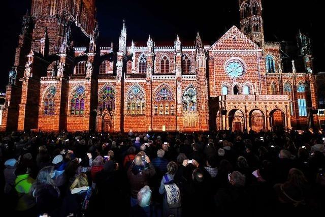 Beim Münster-Mapping gibt es Zusatzvorstellungen – wegen hoher Nachfrage