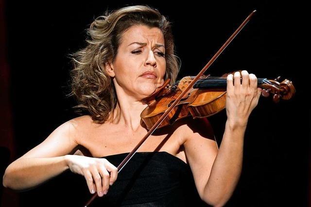 Star-Geigerin Anne-Sophie Mutter im ausverkauften Konzerthaus: