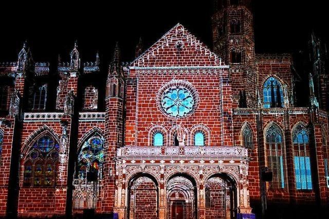 Mehr als 75.000 Zuschauer sahen das Münster-Mapping in Freiburg