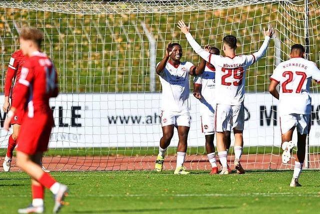 A-Junioren des SC Freiburg chancenlos gegen Spitzenreiter Nürnberg