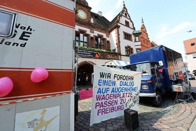 Wagenburg soll als Zwischenmieter auf ein Gelände in Freiburg-St. Georgen ziehen