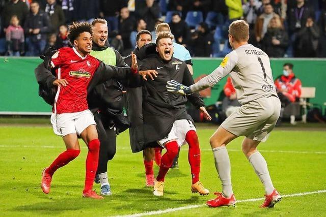Ersatz-Torhüter des SC wird beim Pokal-Erfolg in Osnabrück zum